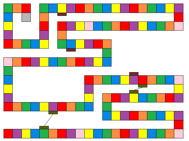 candyland game board template